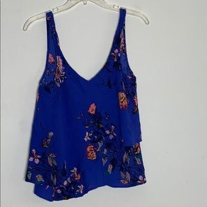 Tops - Flowy Floral Tank Top